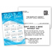 2015 Wallet Calendar - Blue Thank You