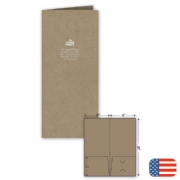 109804, Mini Presentation Folder - Foil Imprint
