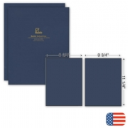 109809, Two Part Report Cover - Foil Imprint