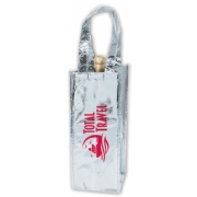 109863, Metallic Wine Bag