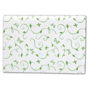 All A Flutter Tissue Paper - White TP w butterflies