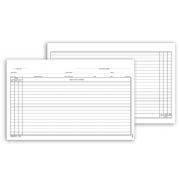 1159, General Patient Exam Records, Card Style w/o Account R