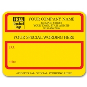 1200C, Jumbo Padded Mailing Label with Special Wording