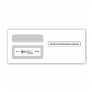 1099 Tax Form Envelopes - Double Window