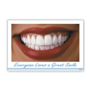 Everyone Loves a Great Smile Dental Postcard