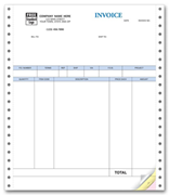 Continuous QuickBooks® Product Invoices - No Packing Slip