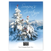 MT15008, Winter Gathering Holiday Logo Cards