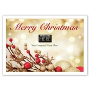 MT15015, Berry Bold Christmas Logo Cards