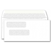 132041N, Double Window Envelope