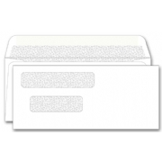 133041N, Double Window Envelope
