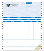 Continuous Peachtree Product Invoices - Parchment