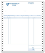 Continuous Redwing® Invoices