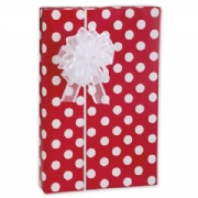 Cherry Dots Gift Wrap