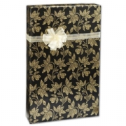 Golden Flora Gift Wrap