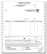 Continuous Straight Bills of Lading