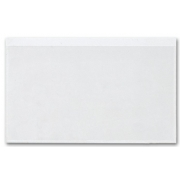 "140, Adhesive Transparent File Pockets, 8"" x 5"""