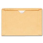 1419, Straight Tab Card File Pocket, 5 1/2 x 8 1/8, Buff