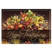 Custom Happy Thanksgiving Holiday Cards