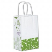 Small Paper Shopping Bags- All A flutter