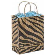 Kraft-Zebra-Paper-Shopping-Bag