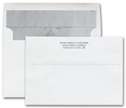Custom Printed Holiday Card Envelopes