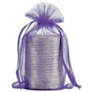 Purple Organdy Bags
