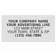 Rectangle Polyester Label