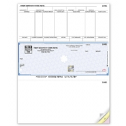 Microsoft® Dynamics Laser Payroll Checks