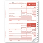 Continuous 1099-DIV Tax Forms, Self-Mailer