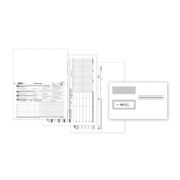Laser 1095B ACA Set w/Envelopes