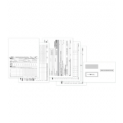Laser 1095C ACA Set w/Envelopes