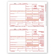 Laser Bulk 1099-MISC Tax Forms, Federal Copy A