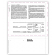 Laser 1098-T Tax Forms - Student Copy B, Pressure Seal