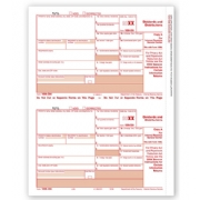 Laser Bulk 1099-DIV Tax Forms, Federal Copy A