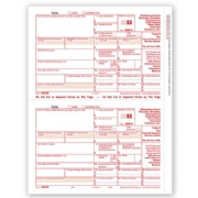 Laser Bulk 1099-R Tax Forms, Federal Copy A