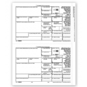 Laser Bulk 1099-R Tax Forms, Recipient Copy B