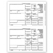 Laser 1099-R Tax Forms - Recipient/State/City/Local Copy C