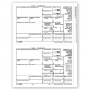 Laser 1099-R Tax Forms - Payer/State/City/Local Copy D