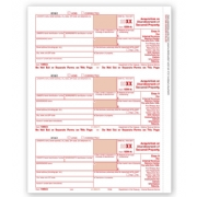 Laser 1099-A Tax Forms - Federal Copy A