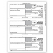 Laser 1099-A Tax Forms - Borrower Copy B