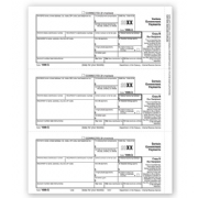 Laser 1099-G Tax Forms - Recipient Copy B