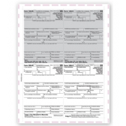 Laser 1099-R 4-Up Tax Forms - Pressure Seal
