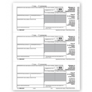 Laser 1099-CAP Tax Forms - Corporation/Broker/State Copy C