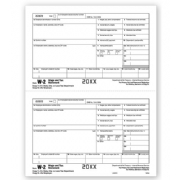 Laser W-2 Tax Forms - Employee Copy 1