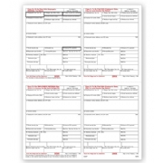 Laser Bulk W-2 Tax Forms - 4-Up