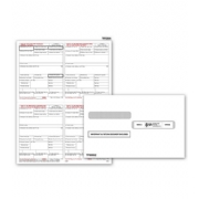Laser W-2 Tax Forms & Envelopes - Copy B, C, 2+2