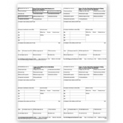 4-Up Laser W-2 Tax Forms - Employee T