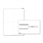 Blank Laser W-2 Tax Forms & Envelopes
