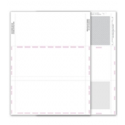 Blank 1099-MISC Tax Forms - Backer, 2-Up
