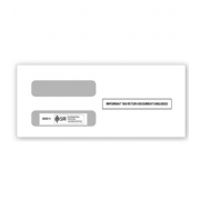Two-Window Envelopes for 1099 Misc. 3-Up
